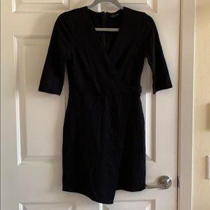 Topshop faux wrap dress